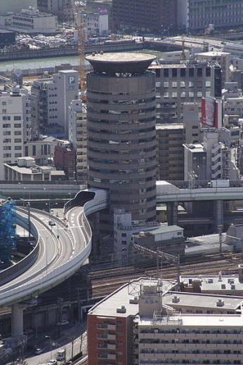 Hanshin expressway Osaka