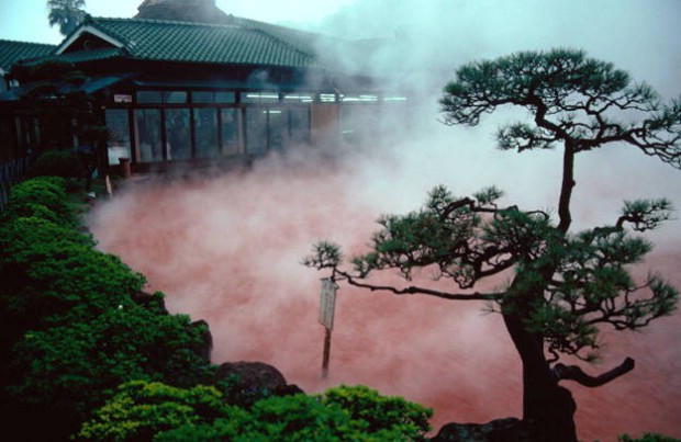 beppu hot springs japan