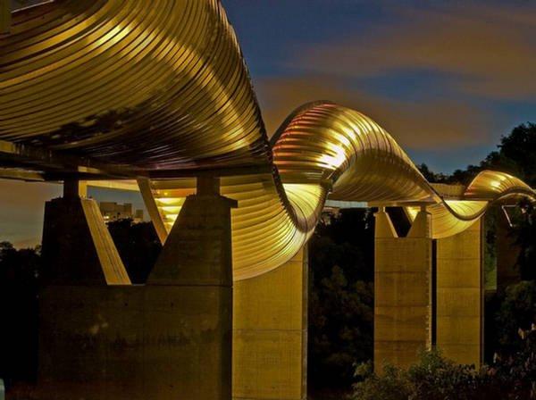 henderson wave bridge singapur eccentric tourist attracions