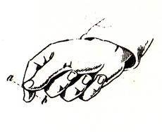 italian gesture language - money