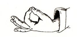 italian gesture language - perfect