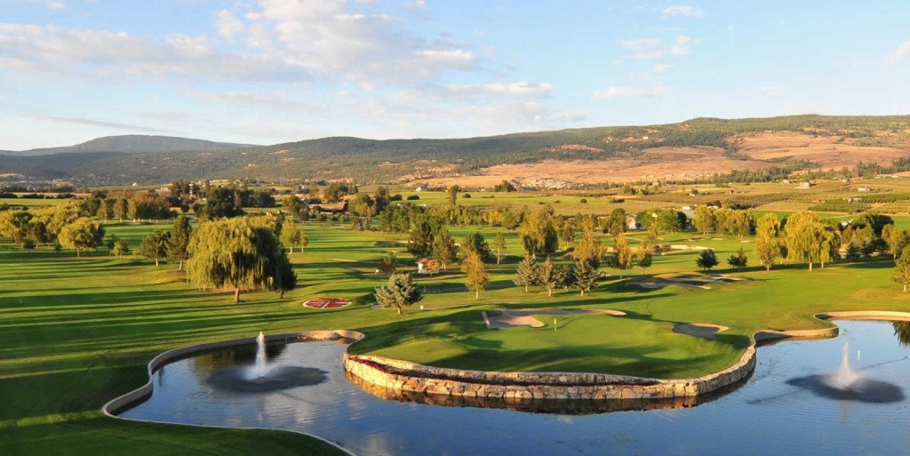 golf courses kelowna