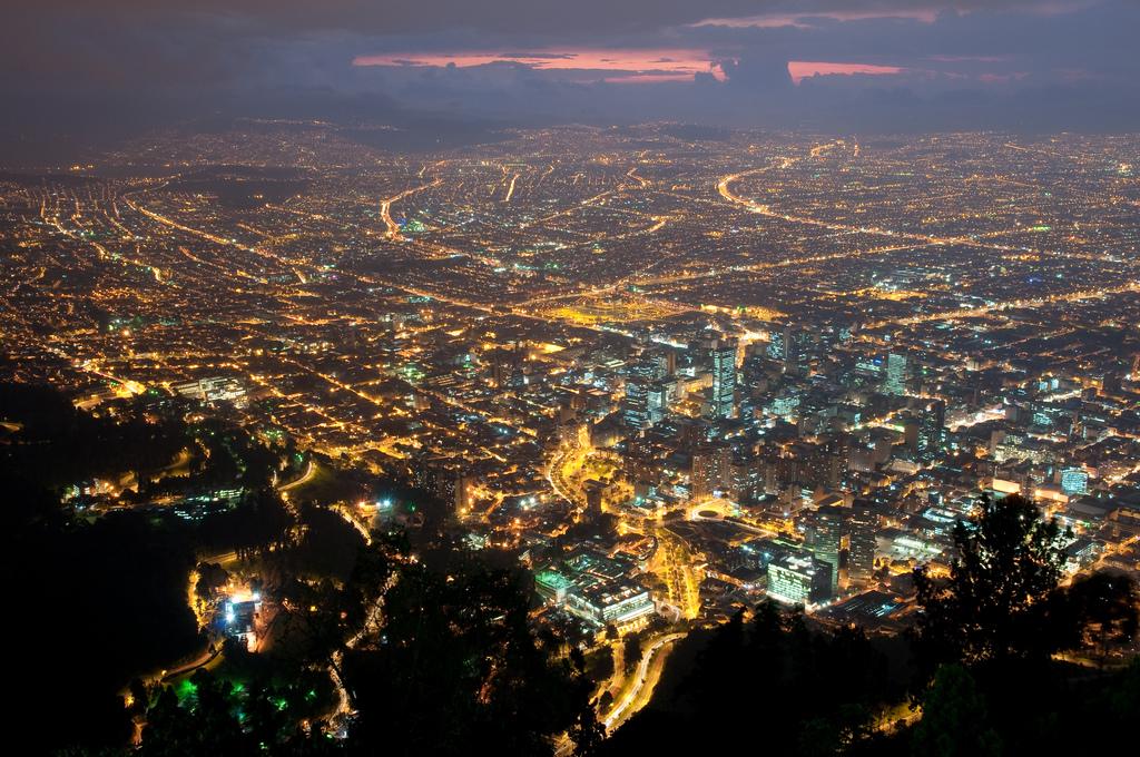 Bogota night