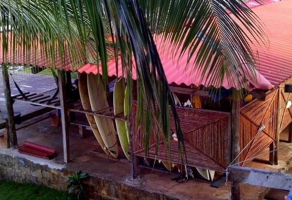 Surfer Bar in Costa Rica