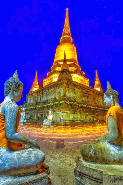 Ayutthaya night