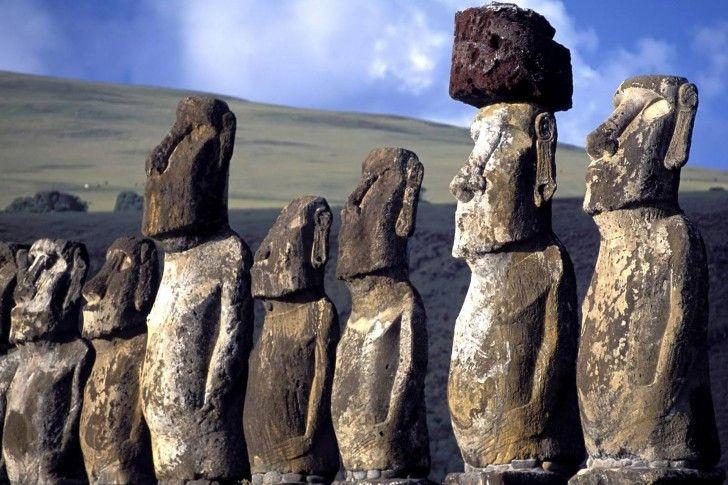 Ahu Tongariki Easter Island