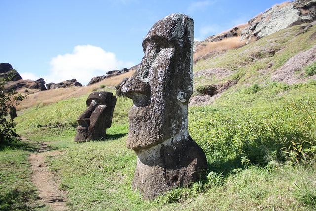 moai statue easter sland