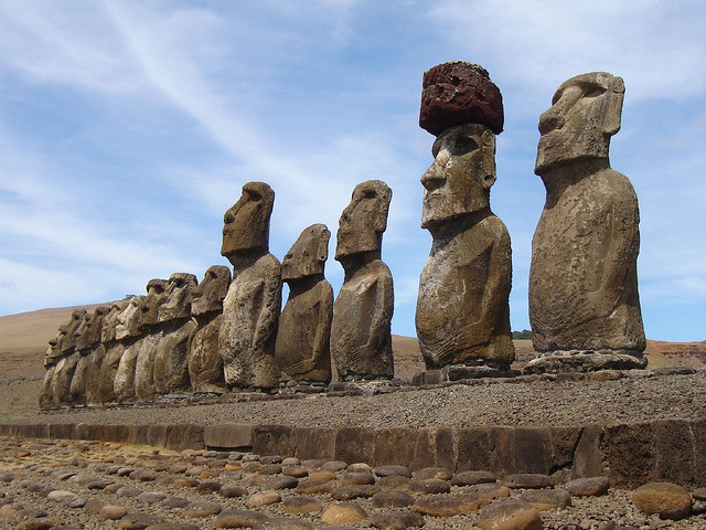 visit easter island moai