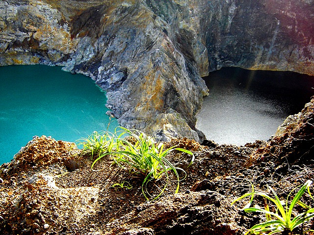 Kelimutu Volcano Lakes
